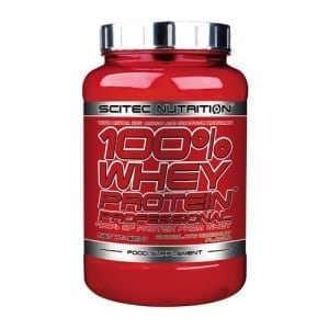 Scitec Nutrition 100 Whey 920g - Protein Powders and Mass Gainers, The Supplement Stop