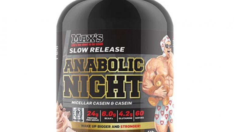 Max's – Anabolic Night Casein Review