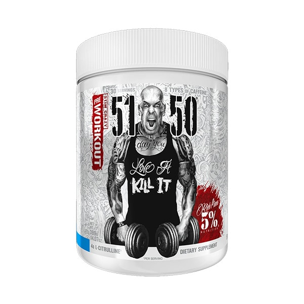 5% Nutrition 5150 Pre-Workout Blue Ice Sports Supplement