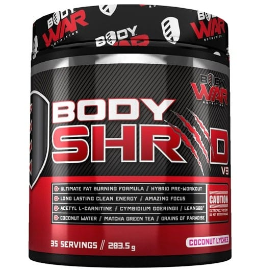 Body War Nutrition – Body Shred v3 Review
