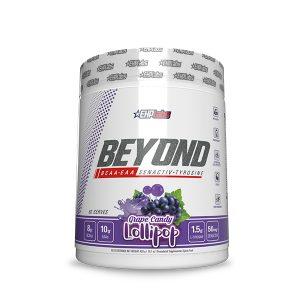 Beyond BCAA + EAA Grape Candy Lollipop Supplement