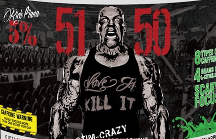 Rich Piana 5% Nutrition 5150 Review