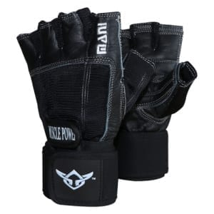 Mani DELUXE LEATHER MUSCLE POWER GLOVES