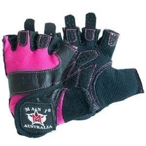 Mani Pink Weight Training Gloves