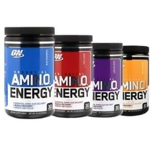 Amino-energy flavours