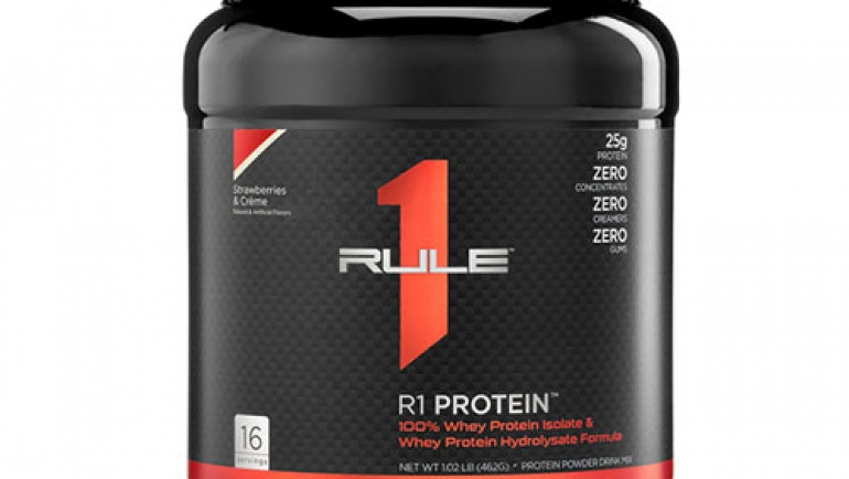 Rule1 Protein – Whey Isolate Formula Review