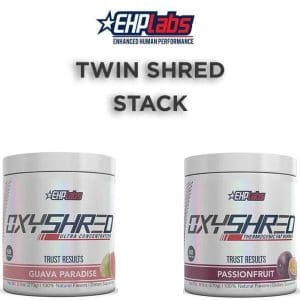 Twin Shred Stack - 2 OxyShred Tubs