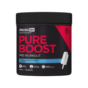 PranaOn Pure Boost Preworkout Lemonade Icy Pole