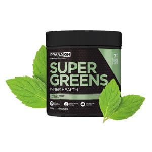PranaOn Super Greens Mint Tub