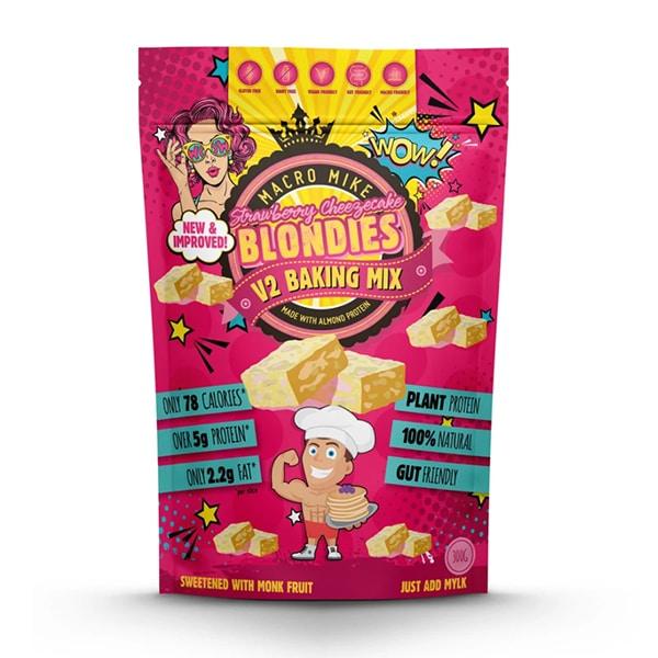 Macro Mike Blondies V2 Strawberry Cheezecake Baking Mix