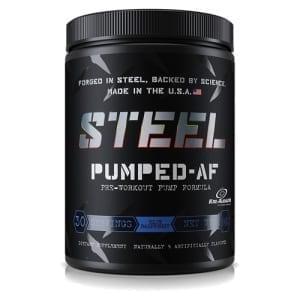 Steel pumped-af blue raspberry