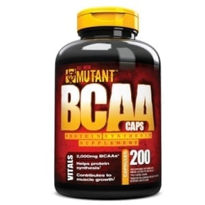 Mutant BCAA Caps 200