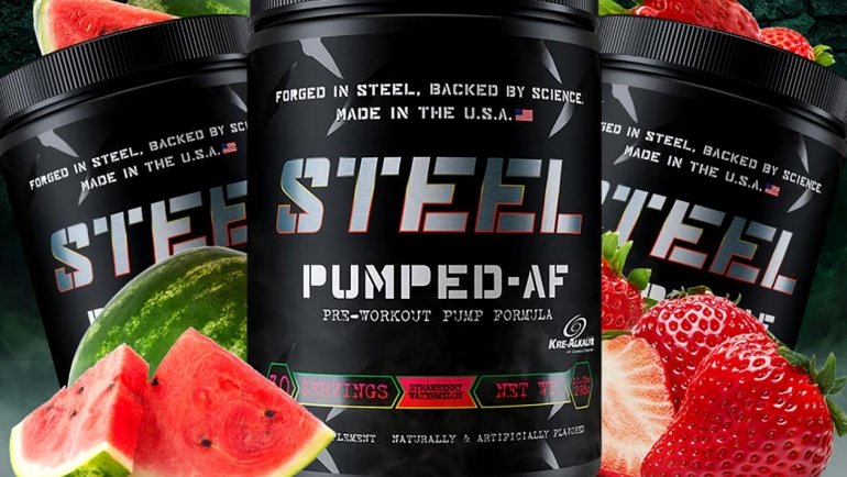 STEEL Supplements – Pumped AF Preworkout Review