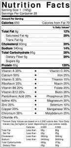 On-pro-gainer-nutrition