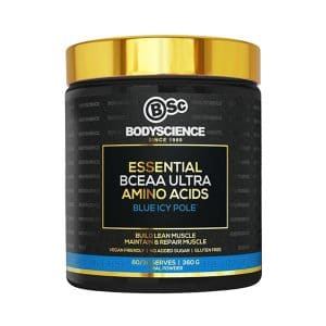 Body Science Essential BCEAA Ultra Amino Acids Blue Icy Pole