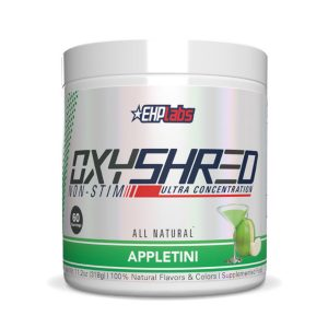 EHP Labs OxyShred Non-Stim Ultra Concentration Appletini Supplement