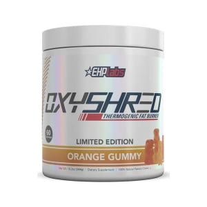 oxyshred orange gummy