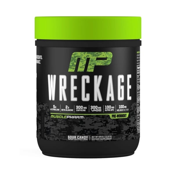 wreckage pre workout