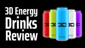 3D Energy Drinks Review