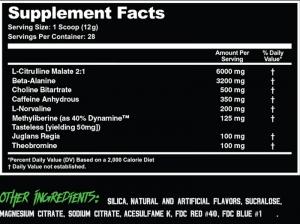 Pathogen pre workout ingredients