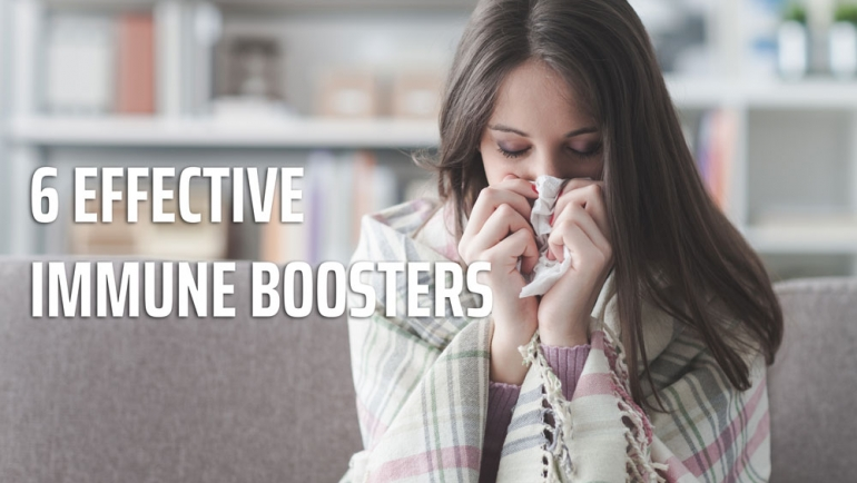 6 effective immune boosters