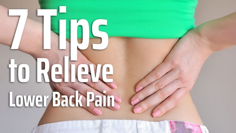 7 Tips to Relieve Lower Back Pain