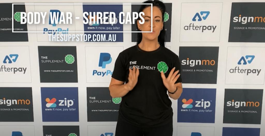Body War Shred Caps