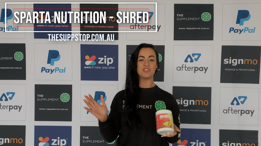 Sparta Nutrition Shred Review