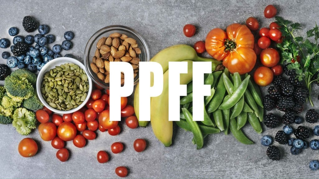 PPFF - Protein, Plants, Fat, Fibre