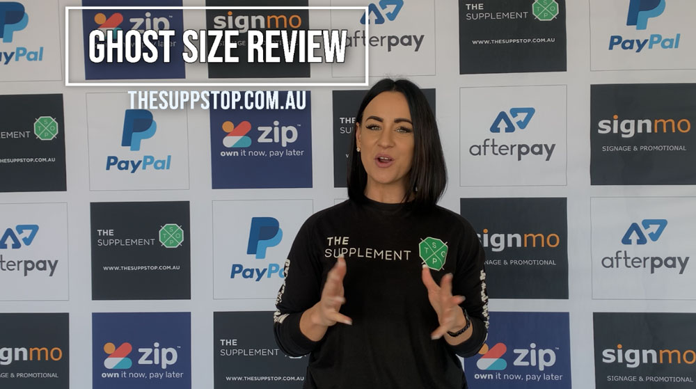 Ghost Size Review with Ash Tilley