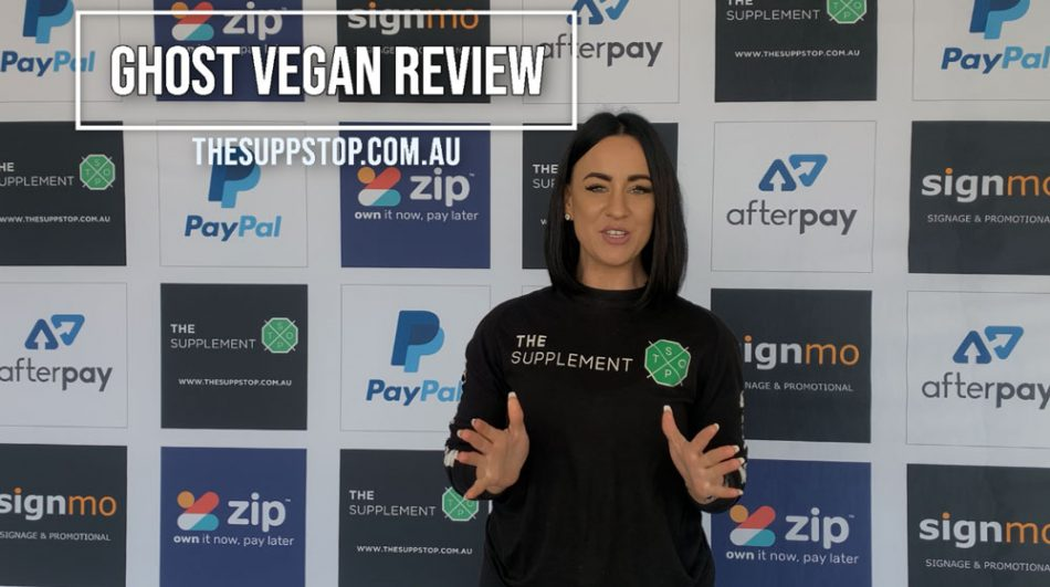Ghost Vegan Protein Review
