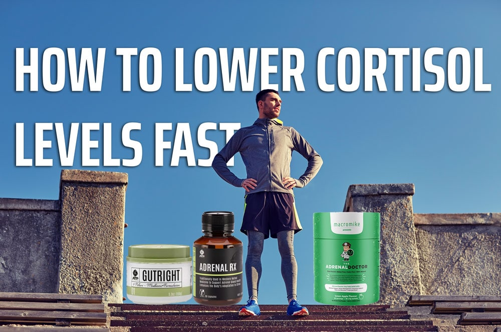 How to lower cortisol levels fast
