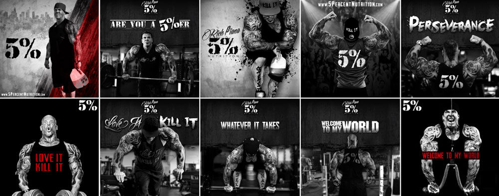 Rich Piana's 5% Nutrition