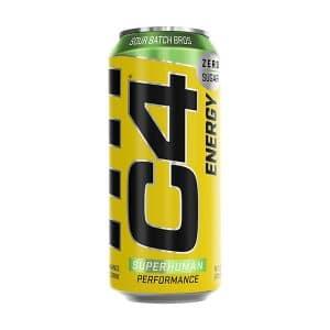 C4 Sour Batch Bros Zero Sugar On The Go Carbonated Drink