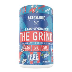 Axe & Sledge Supplements EAAS + Hydration The Grind Blue Raspberry Flavour