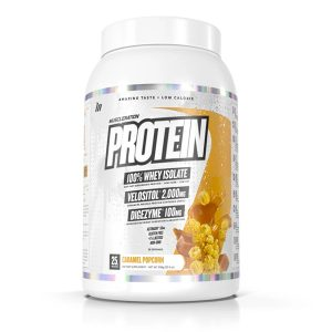 Muscle Nation Protein Carmel Popcorn