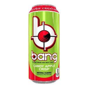 Bang Candy Apple Crisp Super Creatine sports energy drink